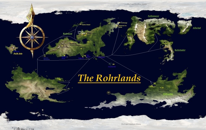 Rohrland Sea Trade Routes